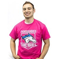 Thoroughbred Diesel Pink Shield T-Shirt