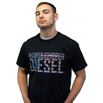 Thoroughbred Diesel American Flag T-Shirt