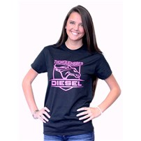Thoroughbred Diesel Black Shirt Pink Shield