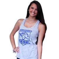 Thoroughbred Diesel Cosmic White/Black Tank Blue Shield