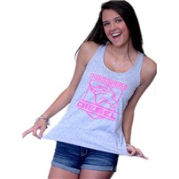Thoroughbred Diesel Cosmic White/Black Tank Pink Shield