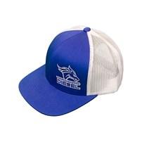 Thoroughbred Diesel Blue Bill, Blue Front, White Mesh Snap Back Blue/White Logo Hat