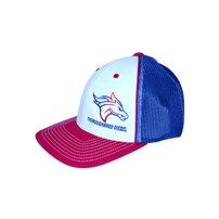 Thoroughbred Diesel American Flag Horse Head Hat