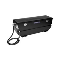 Transfer Flow Toolbox Refueling Tank Combo - Fits: Universal - (Powder Coated Black)(Aluminized Steel) - 40 Gal - 0800115195