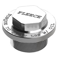 Fleece Performance Duramax Turbo Thermostat Delete Plug - 01-13 GM Duramax - FPE-TURBO-THERM