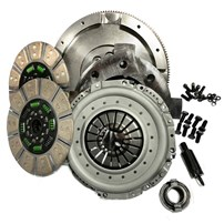 Valair Street Dual Disc Clutch NMU70NV45DDSN - 1994-2003 Dodge 5.9L Cummins 5-Speed (650HP 1200 ft-Lbs.)
