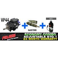 VP44 2 Year Warranty - Injectors - FASS Adjustable Combo Package