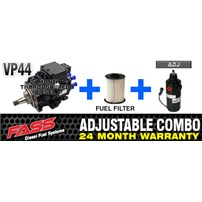 VP44 2 Year Warranty - FASS Pump - Fuel Filter - Combo Package