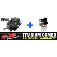 VP44 2 Year Warranty - FASS Pump - Combo Package
