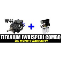 VP44 2 Year Warranty - FASS Titanium Signature Series (Whisper Technology) - Combo Package