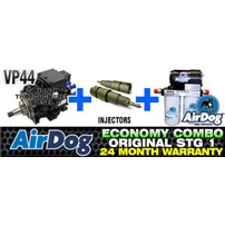 VP44 2 Year Warranty - Injectors - 100 GPH Original Airdog - Combo Package