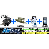 VP44 2 Year Warranty - Injectors - 100 GPH Original Airdog - Smarty Tuner Combo Package