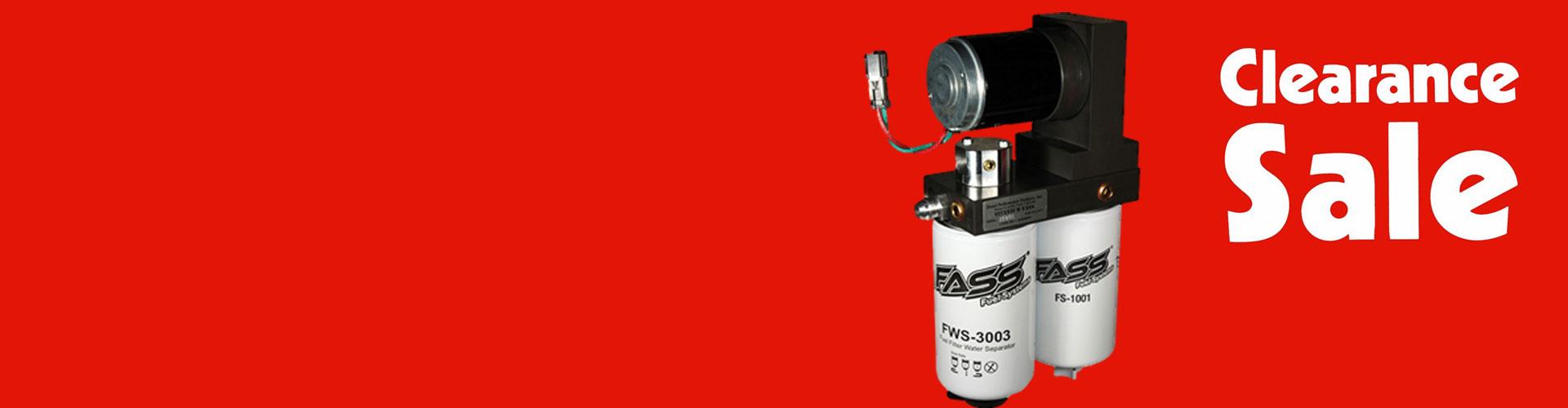 Diesel Performance Parts Cummins Powerstroke Duramax 89 Ford F 250 Fuel Filter Fass Titanium Pump Clearance Sale